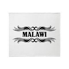 Tribal Malawi Throw Blanket