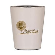 Palm Tree Mauritius Shot Glass