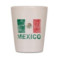 Vintage Mexico Shot Glass