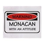 Attitude Monacan Throw Blanket