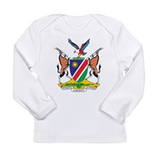 Namibia Coat Of Arms Long Sleeve Infant T-Shirt