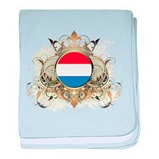 Stylish Netherlands baby blanket