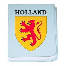 Heart Netherlands baby blanket