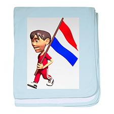 3D Netherlands baby blanket