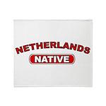 Netherlands Native Throw Blanket