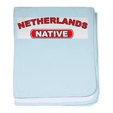 Netherlands Native baby blanket