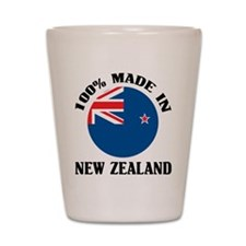 Made In New Zealand Shot Glass