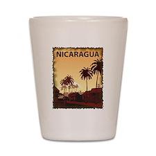 Vintage Nicaragua Shot Glass