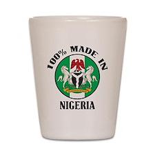 Made In Nigeria Shot Glass