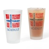 Vintage Norway Pint Glass