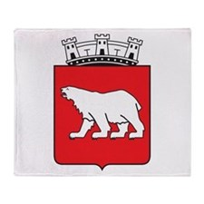 Hammerfest Coat Of Arms Throw Blanket
