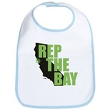Cute California pride Bib