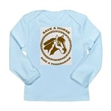 Ride A Panamanian Long Sleeve Infant T-Shirt