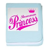 Panamanian Princess baby blanket