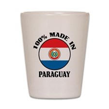 Made In Paraguay Shot Glass