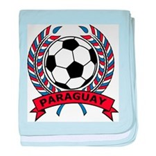 Soccer Paraguay baby blanket