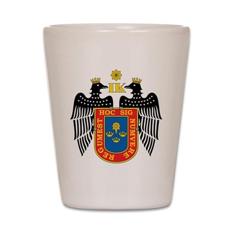 Lima Coat Of Arms Shot Glass