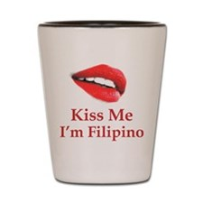 Kiss Filipino Shot Glass