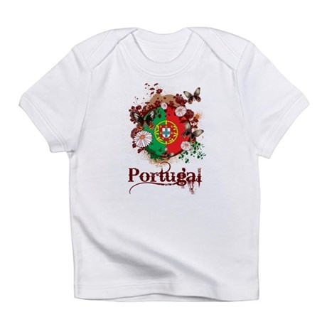Butterfly Portugal Infant T-Shirt