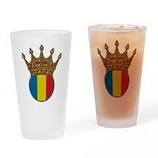 King Of Romania Pint Glass