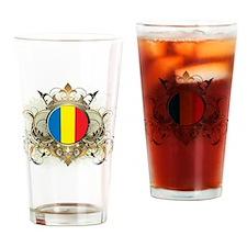 Romania Pint Glass