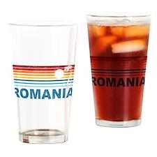 Palm Tree Romania Pint Glass