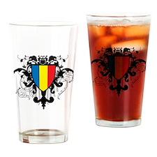 Stylish Romania Pint Glass