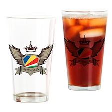 Seychelles Emblem Pint Glass