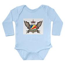 Seychelles Emblem Long Sleeve Infant Bodysuit