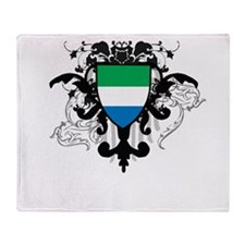 Stylish Sierra Leone Throw Blanket