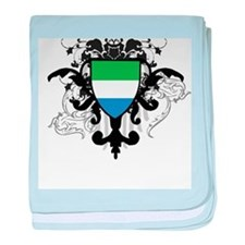 Stylish Sierra Leone baby blanket