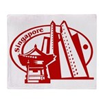 Singapore Throw Blanket