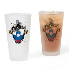 Deejay In Slovenia Pint Glass