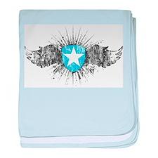 Vintage Somalia Wings baby blanket