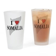I Love Somalia Pint Glass
