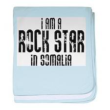 Rock Star In Somalia baby blanket