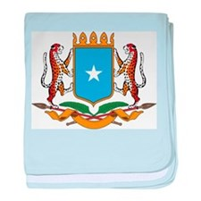 Somalia Coat Of Arms baby blanket
