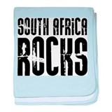 South Africa Rocks baby blanket