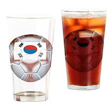 South Korea Soccer Pint Glass