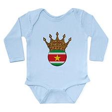 King Of Suriname Onesie Romper Suit