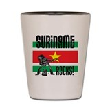 Suriname Rocks Shot Glass