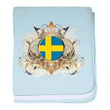 Stylish Sweden baby blanket