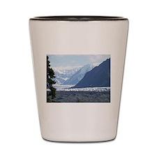 Matanushka Glacier Shot Glass
