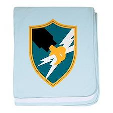Cute Army security agency baby blanket