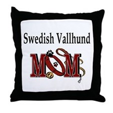 Swedish Vallhund Throw Pillow