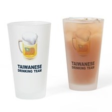 Taiwanese Drinking Team Pint Glass