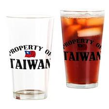 Property Of Taiwan Pint Glass