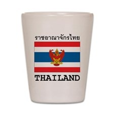 Thailand Shot Glass