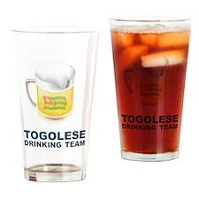 Togolese Drinking Team Pint Glass