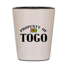 Property Of Togo Shot Glass